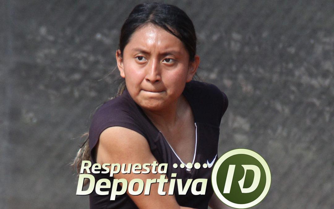 ZAPOPAN CAPITAL DEL TENIS: PROTAGONISTA FIN DE PUERTA DE HIERRO; LIZETTE MERAZ