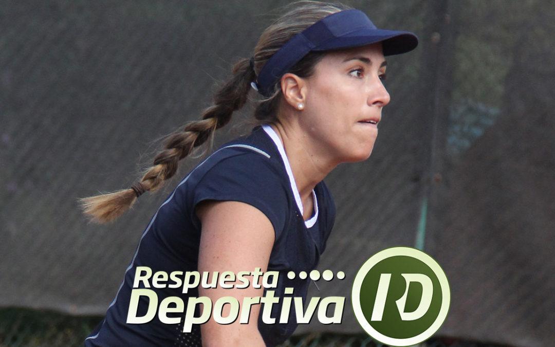 ZAPOPAN CAPITAL DEL TENIS: PROTAGONISTA FIN DE PUERTA DE HIERRO; FINA JAVELLY