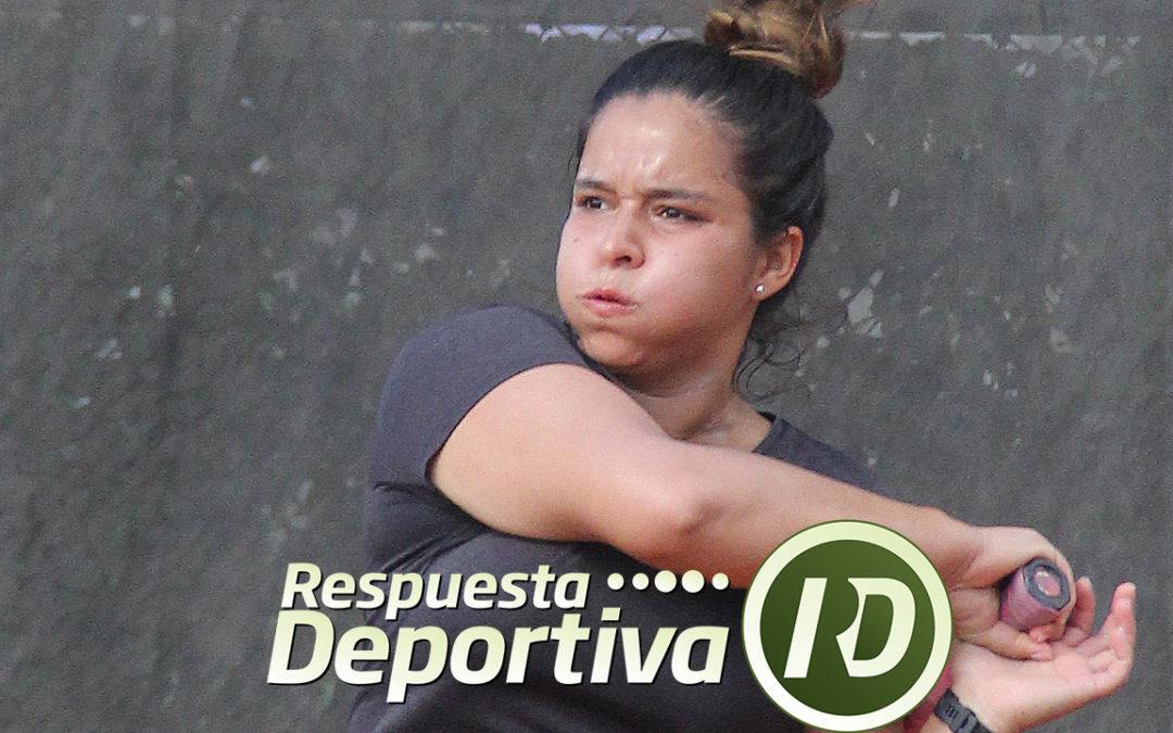 ZAPOPAN CAPITAL DEL TENIS: PROTAGONISTA FIN DE PUERTA DE HIERRO; ILIANA GARCIA
