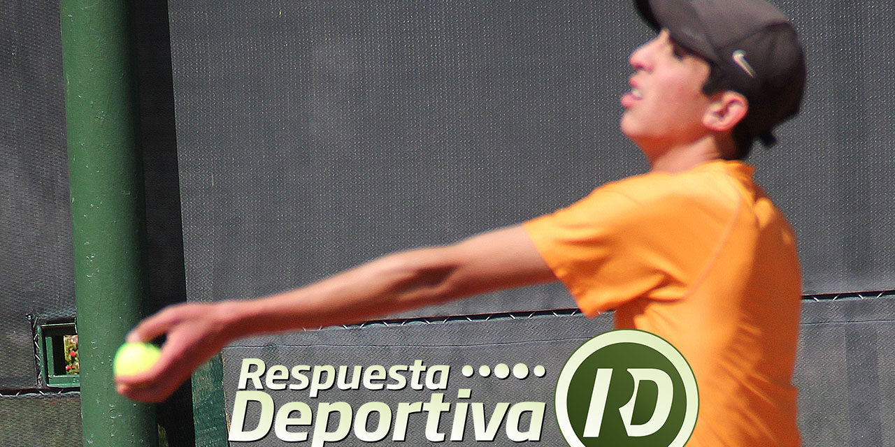 RESPUESTA DEPORTIVA TE DESPIDE COMO TENISTA JUVENIL JORGE IVAN JUÁREZ CABALLERO