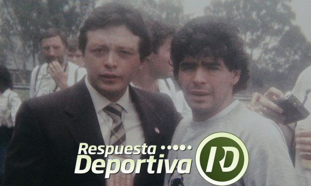 RECUERDOS DE ALEJANDRO ÁLVAREZ CON DIEGO MARADONA EN EL MUNDIAL 1986