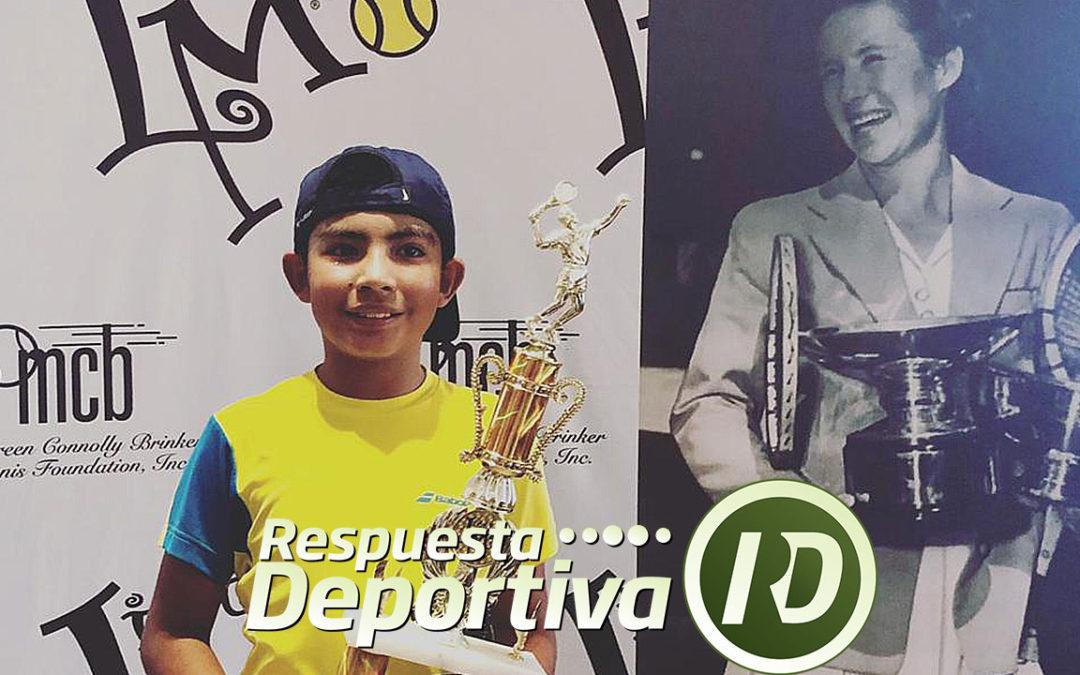 MAUREEN CONNOLLY TOURNAMENT: VALENTINO ARJONA MONARCA EN 10 AÑOS