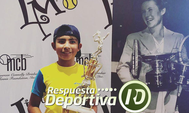 MAUREEN CONNOLLY TOURNAMENT: VALENTINO ARJONA MONARCA EN 10 AÑOS