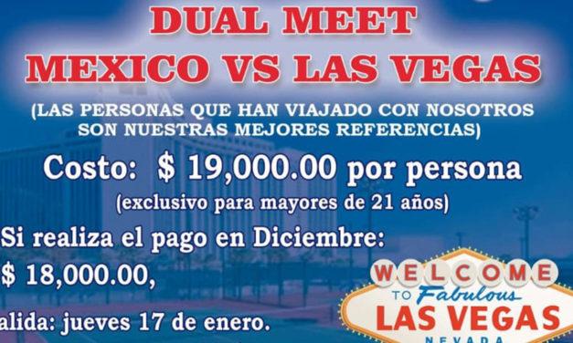 TANDRU TENNIS TOURS: DUAL MEET MÉXICO VS. LAS VEGAS