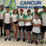 LOS CHICOS DE CANCUN TENNIS ACADEMY LISTOS PARA EL ESTATAL