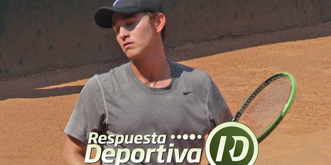 LUIS PATIÑO SE QUEDÓ EN OCTAVOS DE FINAL EN EL M-25 DE TUCSON