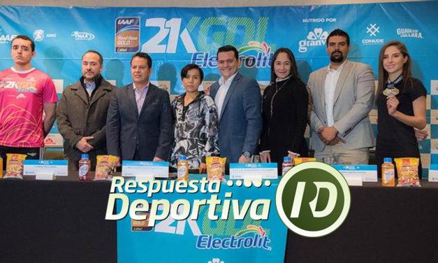 Presentan playera y medalla del 21K Guadalajara 2019