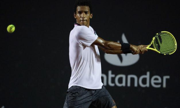 Duelo entre Auger-Aliassime y Munar destaca en los cuartos del Río Open