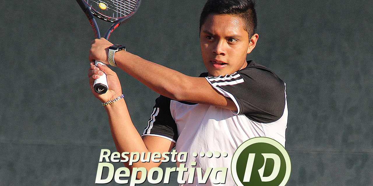 JALISCO JUNIOR CUP 2019: FRANCISCO JAVIER BORBOLLA  A SEGUNDA RONDA DE MAIN DRAW