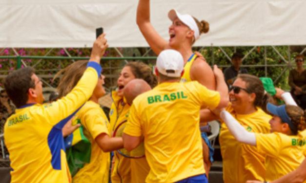 A ritmo de samba, terminó la Eliminatoria Americana de la Fed Cup