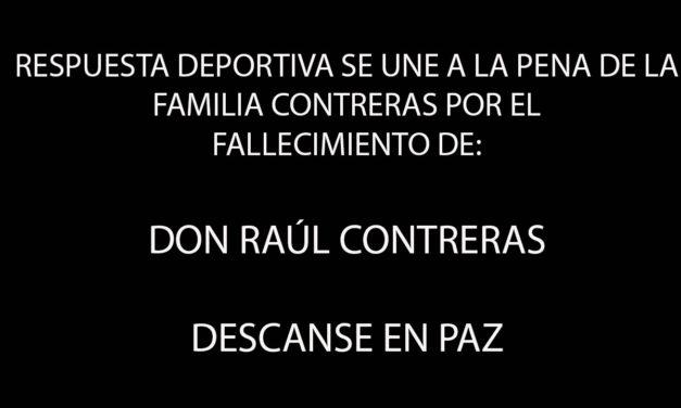 TENISTAS FALLECIDOS: RAÚL CONTRERAS MURIÓ DE CÁNCER