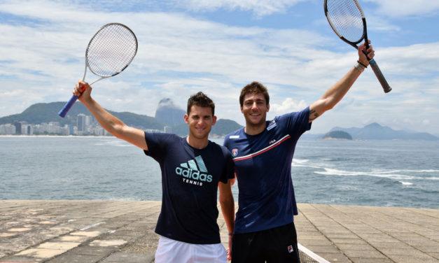 Thiem, Schwartzman, Fognini y Cecchinato juegan en la súper tercera del Río Open