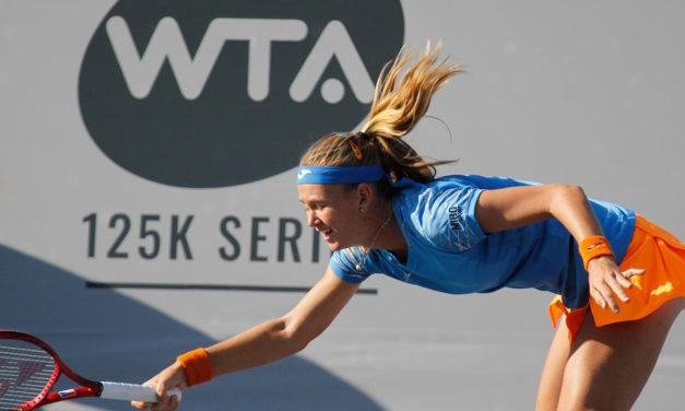 PROTAGONISTAS DEL WTA DE ZAPOPAN EN EL US OPEN: BOUZKOVA EN ACCIÓN