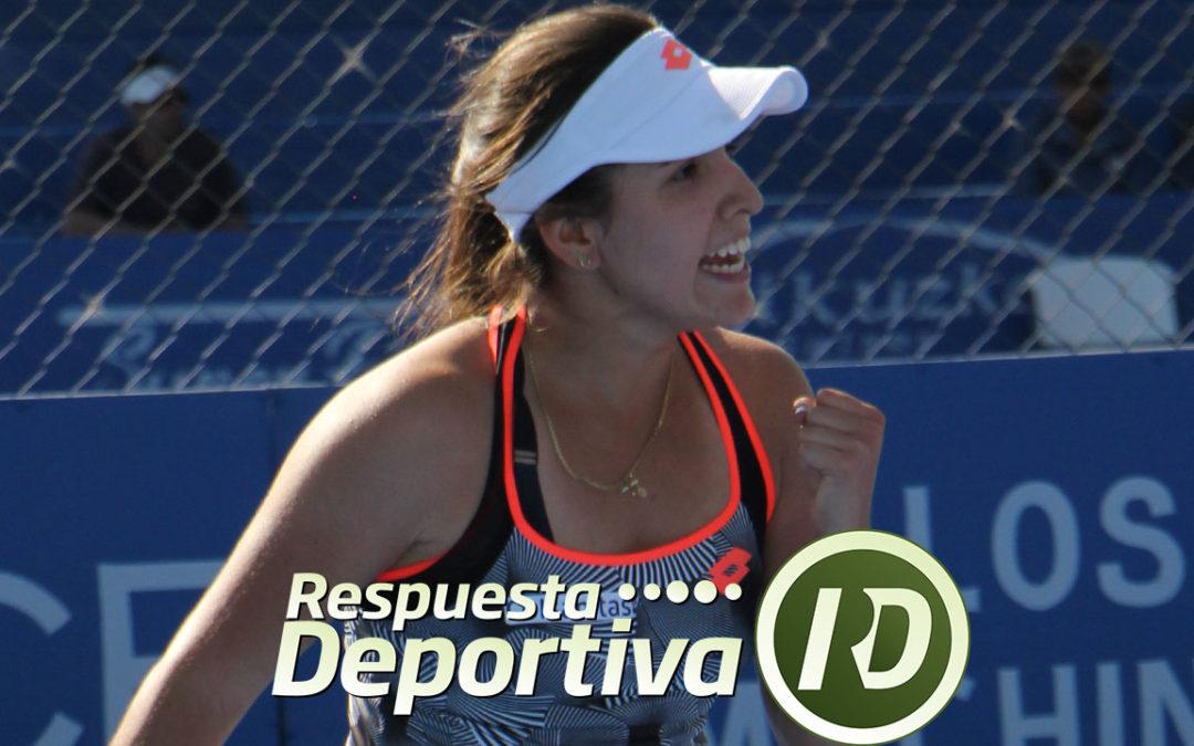 MARIA CAMILA OSORIO DE LAS GANADORAS EN CANCUN TENNIS