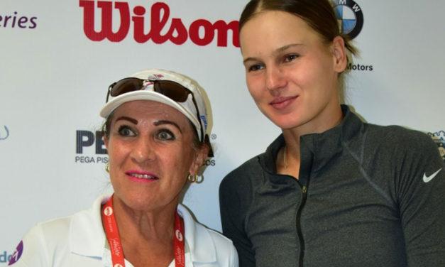 WTA DE ZAPOPAN 2020: EUGENE BOUCHARD UNA FIGURA IMPONENTE