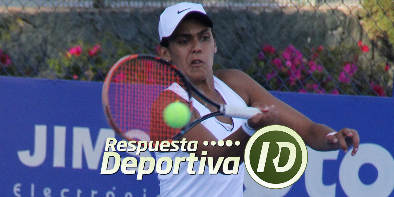 MARÍA JOSÉ PORTILLO SOBRESALE EN EL 4TO RETO DE CANCUN TENNIS ACADEMY; ES CUARTO FINALISTA