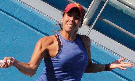 WTA DE MONTERREY: GIULIANA OLMOS CAYÓ EN LA SEMIFINAL DEL DOBLES