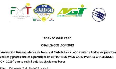 CHALLENGER DE LEÓN PONE EN JUEGO WILD CARD PARA NACIONALES