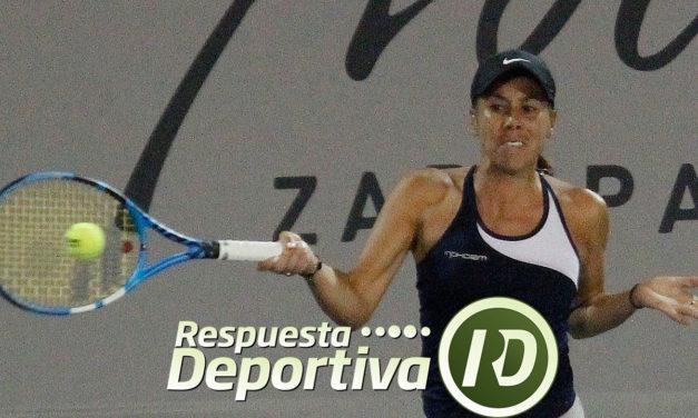 GIULIANA OLMOS CALIFICÓ Y CAYÓ EN PRIMERA RONDA DE UN WTA EN CHINA