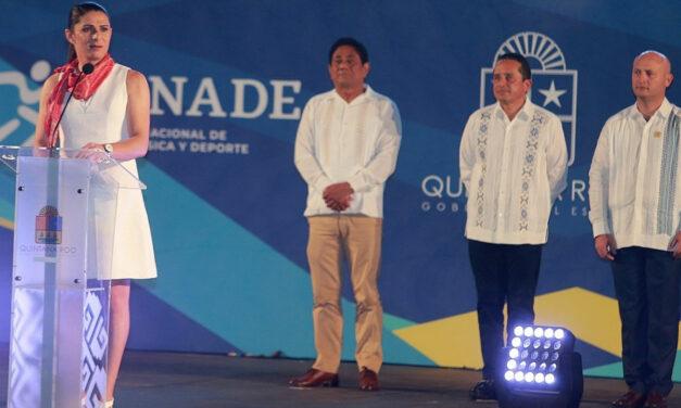 Inaugura Ana Gabriela Guevara la Olimpiada Nacional y Nacional Juvenil 2019
