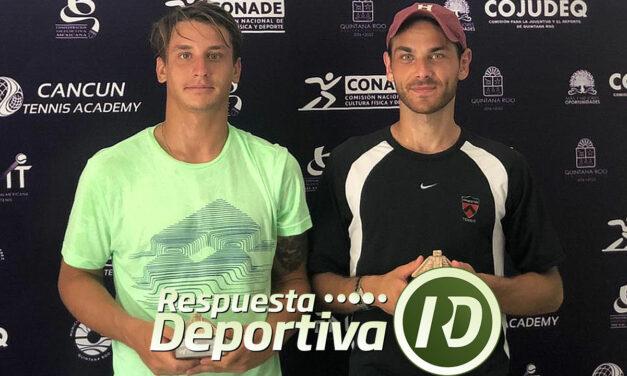 CROATA PECOTIE MONARCA DE LA NOVENA DE CANCUN TENNIS ACADEMY