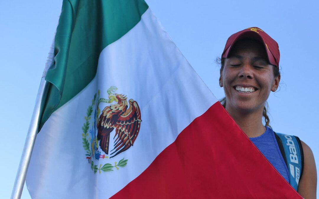 GIULIANA OLMOS EN FINAL DE UN WTA INGLÉS