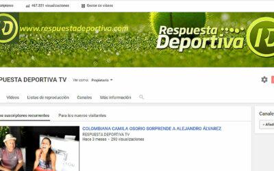 700 SUSCRIPTORES EN RESPUESTA DEPORTIVA TV