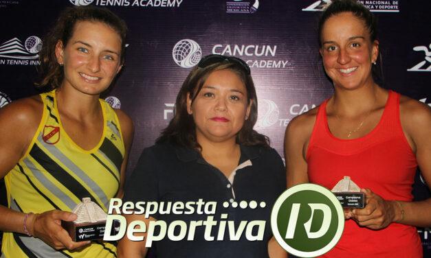 INGRID GAMARRA Y EDUARDA PIAI SE CORONARON EN CANCUN TENNIS ACADEMY