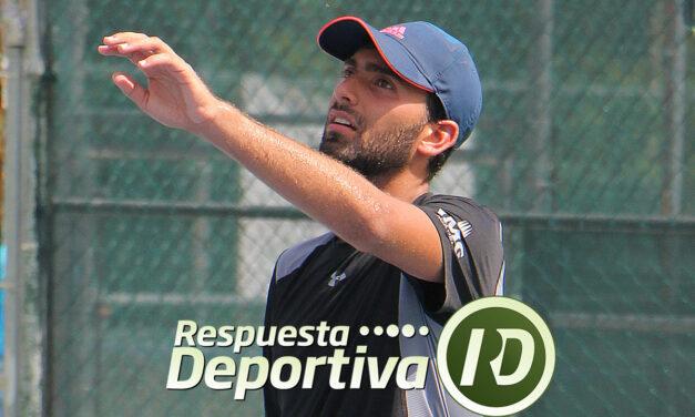 ALAN RUBIO EN ACCIONES DE CANCUN TENNIS ACADEMY 2 DE JULIO 2019