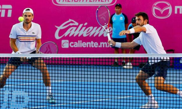 Romain ArneodoyHugo Nys, dominaron el dobles