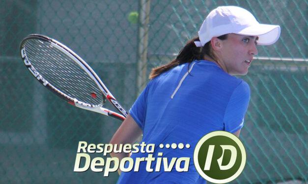 FERNANDA CONTRERAS FINALISTA EN LA XX DE CANCUN TENNIS ACADEMY