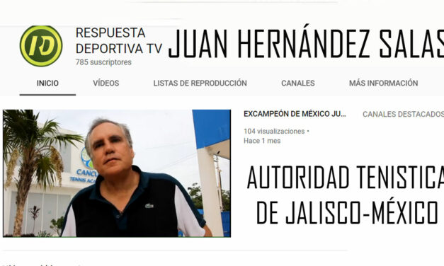 JUAN HERNÁNDEZ DESPIERTA INQUIETUDES EN EL ÁMBITO TENÍSTICO NACIONAL