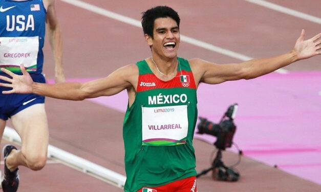 Oro para José Carlos Villarreal en los mil 500 metros de Lima 2019