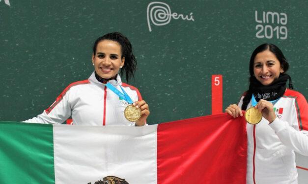 Lluvia de oro en el frontón de Juegos Panamericanos Lima 2019