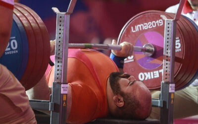 Logra pesista José de Jesús Castillo su cuarta corona de Juegos Parapanamericanos