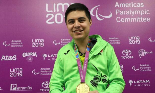 Cosecha para tenis de mesa tres oros y dos platas en Juegos Parapanamericanos