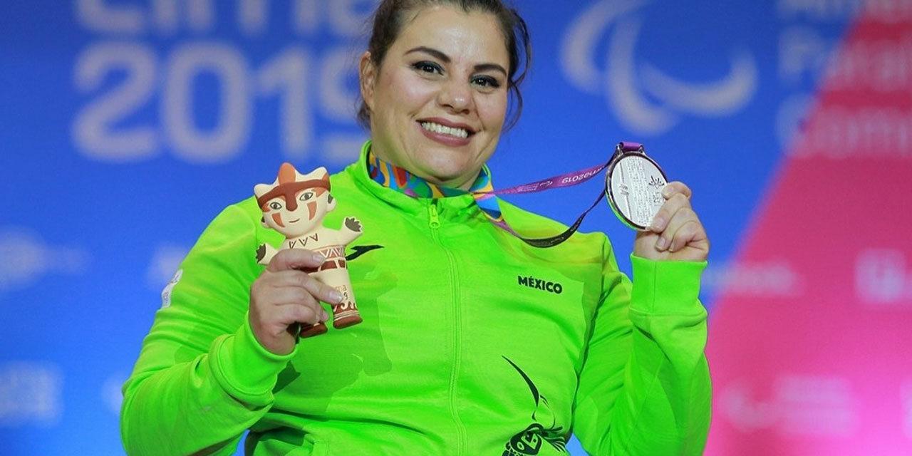 Plata para Miriam Aguilar en segundo día de powerlifting en Lima 2019