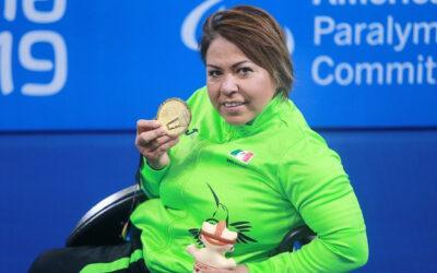 Aportan Patricia Valle y Gustavo Sánchez medallas de oro en penúltimo día de para natación