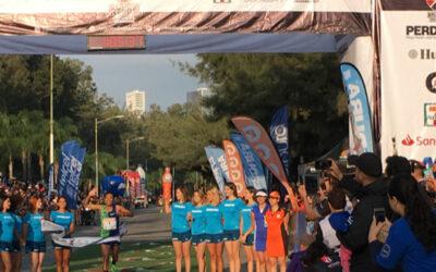 Daniel Vargas y Madaí Pérez campeones del Medio Maratón Atlas Colomos.