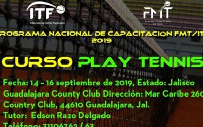 CURSO PLAY TENNIS FMT