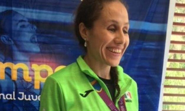 Festejos amargos vive la atleta Mónica Rodríguez.