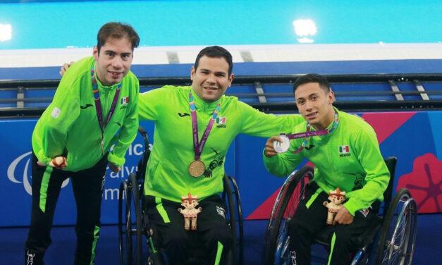 Suma México cuatro oros en jornada matutina de para natación en Lima 2019