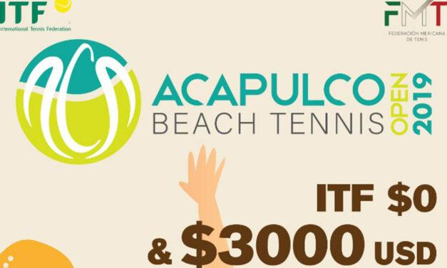 BEACH TENNIS EN ACAPULCO