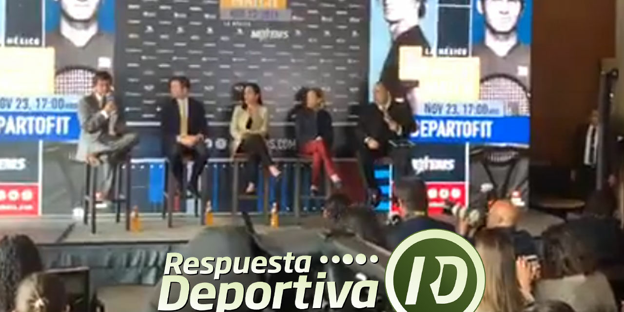 RAÚL ZURUTUZA CONFIRMA LA PRESENCIA DE FEDERER EL 23 DE NOVIEMBRE EN LA PLAZA MÉXICO