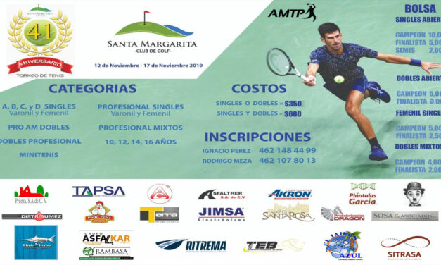 TENIS AMTP EN EL CLUB SANTA MARGARITA