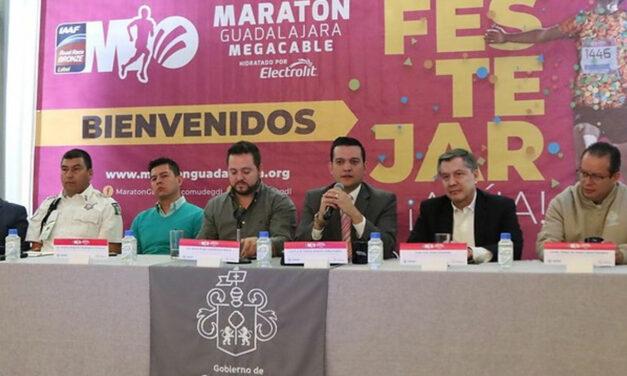 Todo listo para el Maratón de Guadalajara