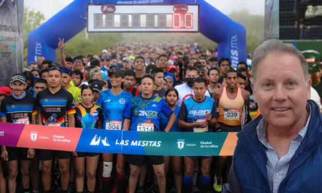 Más 2,000 corren la ruta de Las Mesitas en Zapopan