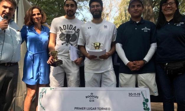 Francisco Polo y Juan Carlos Watkins, los campeones del Festival Boodles de Tenis