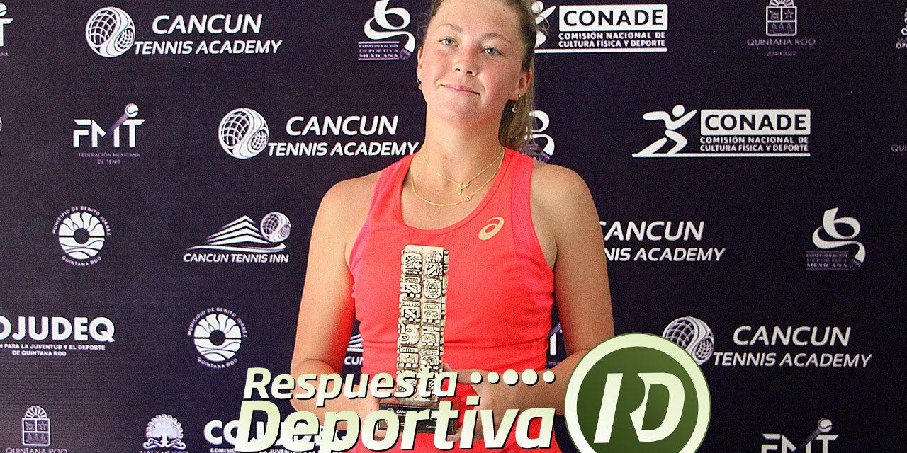 CANCUN TENNIS DRAWS-2- QUINTANA ROO:  ALEXA NOEL MONARCA