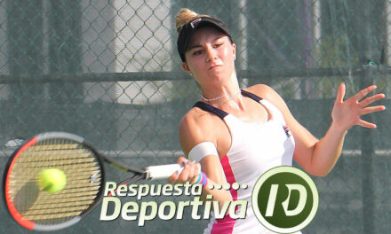 CANCUN TENNIS DRAWS-1- QUINTANA ROO: SOFÍA SEWING REVENTÓ A SU RIVAL